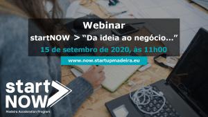 webinar - startNOW